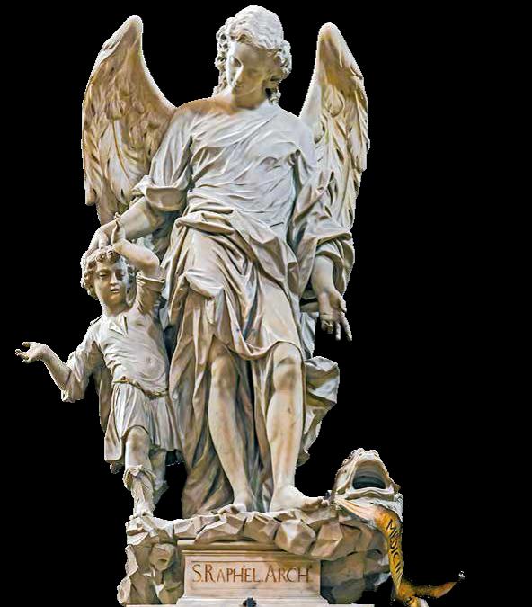 San Rafael Arcángel Iglesia de los Jesuitas, Venecia, Italia